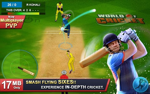 Download World of Cricket : For Your Pc, Windows and Mac 1