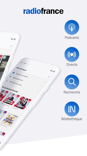Radio France - podcasts, radio en direct  screenshots 2