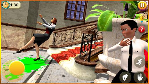 Télécharger Gratuit Scary Scared Teacher Simulator 3: Hyper School APK MOD (Astuce) screenshots 2