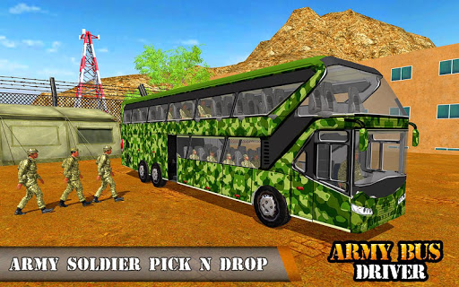 Army Bus Driving 2019 - Military Coach Transporter 1.0.9 screenshots 7