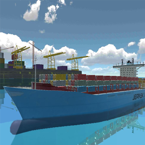 Atlantic Virtual Line Ships Sim 5.0.3 by Artbox Games logo