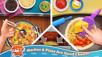 Street Food Stand Cooking Game for Girls