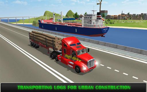 heavy truck simulator pro screenshot 1