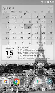Calendar Widget Month + Agenda v1.32 [Unlocked] by IT Benefit 4
