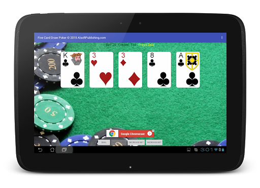 Five Card Draw Poker 1.20 screenshots 14