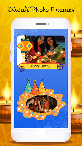 Happy Diwali Photo Frames - Photo Editor screenshots 2
