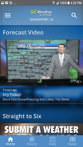 QCWeather - KWQC-TV6 5.0.1309 Screenshots 2