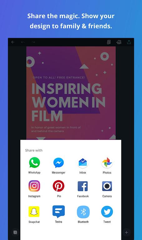 Canva: Graphic Design, Video Collage, Logo Maker  poster 19
