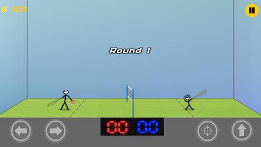 Stickman Badminton:Passion League Game  screenshots 2