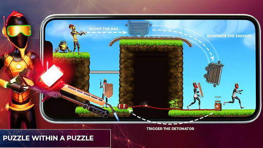 Mr Shooter Puzzle New Game 2020 - Free Games apkpoly screenshots 22