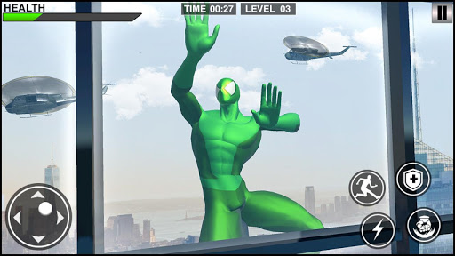 Rope Frog Hero: Rope Ninja Fighting Games 1.0.5 screenshots 8
