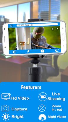 IP Webcam Home Security Cameraのおすすめ画像1