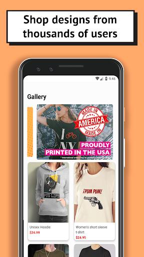 T-shirt design - OShirt android2mod screenshots 4