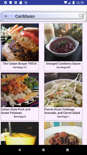 ufeffAmerica and Caribbean Food Recipes 2.0 screenshots 2