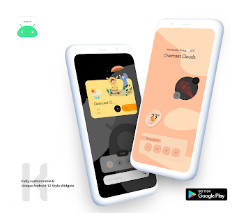 Android 12 Widget Pack for KWGT APK [PAID] Download 2