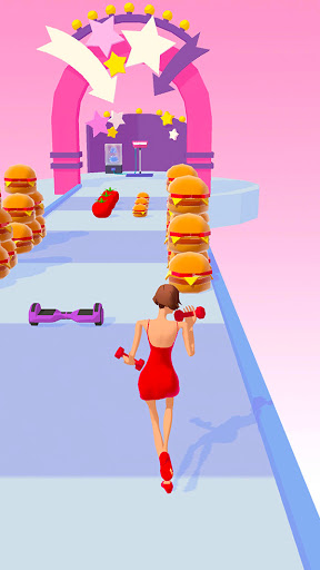 Body Race Challenge : Fat 2 Fit! apkpoly screenshots 5