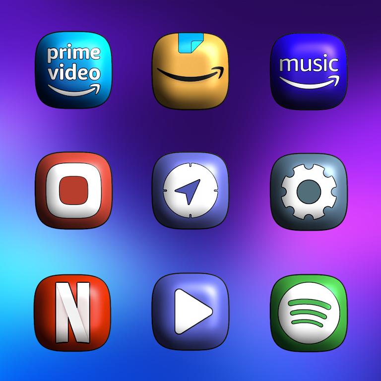 One UI 3D - Icon Pack  poster 4