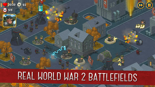 World War 2: Offline Strategy  screenshots 4