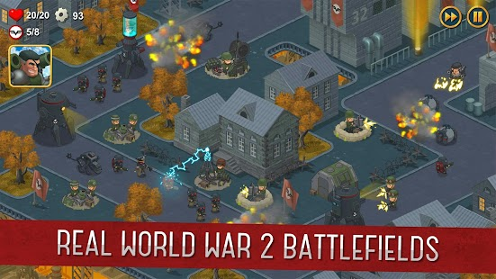 World War 2: Offline Strategy Screenshot