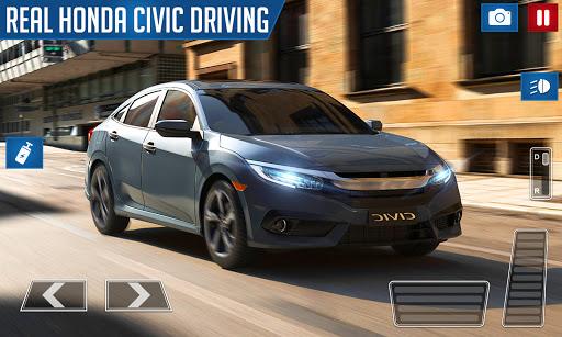 Drifting and Driving Simulator: Honda Civic Game 2 2.0 screenshots 2