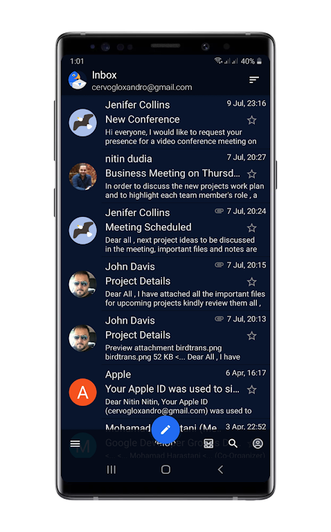 Bird Mail Pro -Email App  poster 1