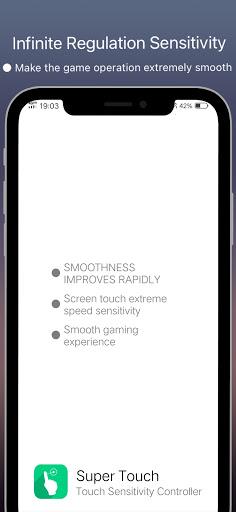 Super Touch - speedy sensitivity 8.3 screenshots 1