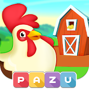 Farm games for toddlers and kids