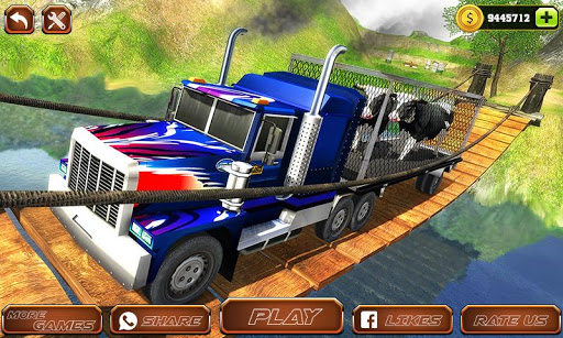 Offroad Farm Animal Truck Driving Game 2020 1.9 Screenshots 1