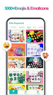 iKeyboard -GIF keyboard,Funny Emoji, FREE Stickers Screenshot