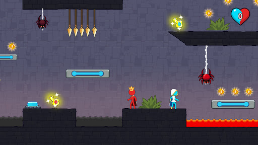 Stickman Red And Blue apkpoly screenshots 5