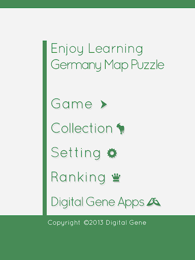 Enjoy Learning Germany Map Puzzle 3.3.3 screenshots 5