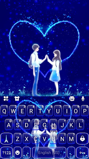 Romantic Love Keyboard Theme 1.0 Screenshots 5