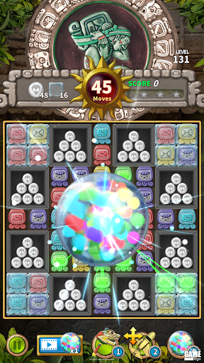 Glyph of Maya - Match 3 Puzzle  screenshots 2