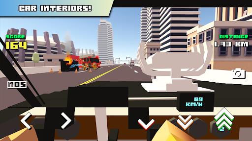 Blocky Car Racer - racing game 1.36 screenshots 7