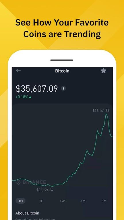 Binance: Bitcoin Marketplace & Crypto Wallet poster 2