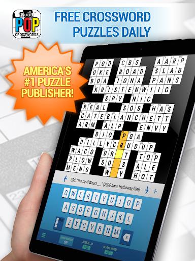 Daily POP Crosswords: Daily Puzzle Crossword Quiz screenshots 6