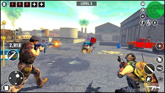 Real Commando Strike CS- New Shooting Games Hack Online [Android & iOS] 3