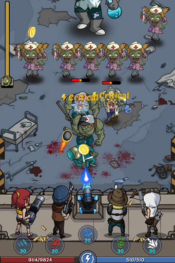 Zombie War: Idle Defense Game 20 screenshots 23