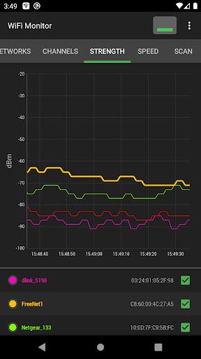 WiFi Monitor: analyzer of WiFi networks modavailable screenshots 6