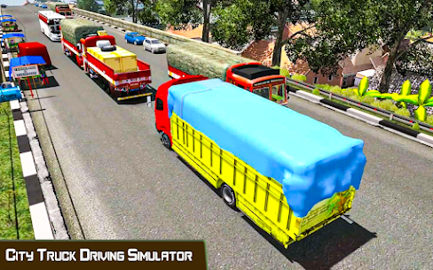 Indian Truck Driver Cargo: Free Transporter Duty 5