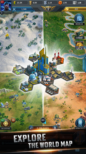 Instant War - Real-time MMO strategy game apkmr screenshots 4
