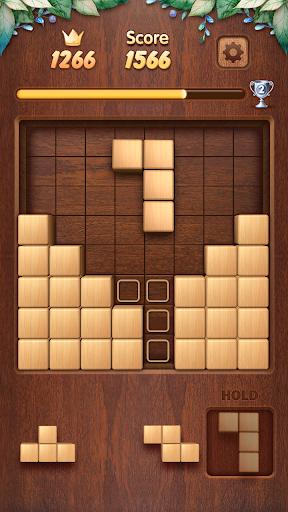 Wood Block Puzzle 3D - Classic Wood Block Puzzle apktram screenshots 5