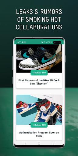 Grailify - Sneaker Release Calendar  Screenshots 4