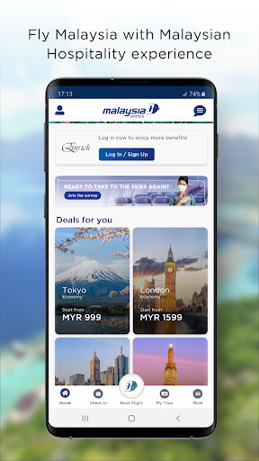 Malaysia Airlines 10.8.4 screenshots 1