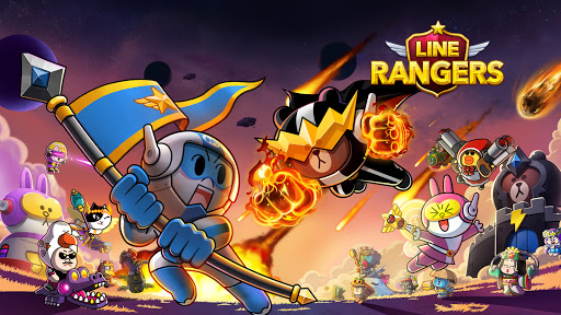 LINE Rangers - a tower defense RPG w/Brown & Cony!  screenshots 10