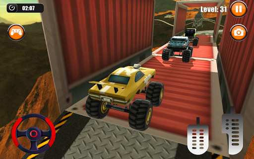Ultimate Monster Truck: 3D Stunt Racing Simulator apkpoly screenshots 9