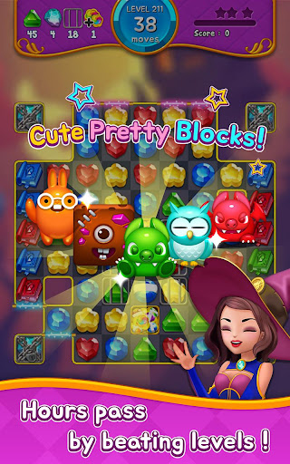 Jewel Witch - Best Funny Three Match Puzzle Game 1.8.2 screenshots 23