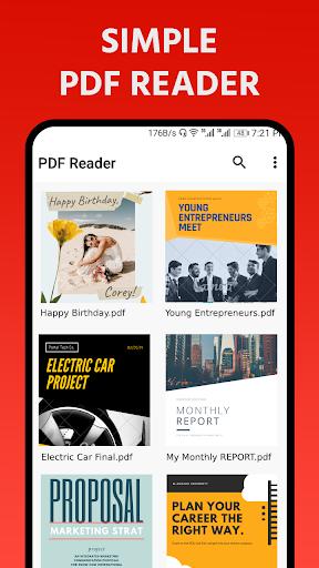 PDF Reader - PDF Viewer, eBook Reader apktram screenshots 1