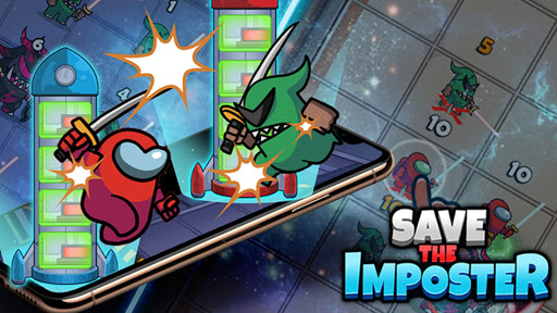 Save The Imposter: Galaxy Rescue apkslow screenshots 6