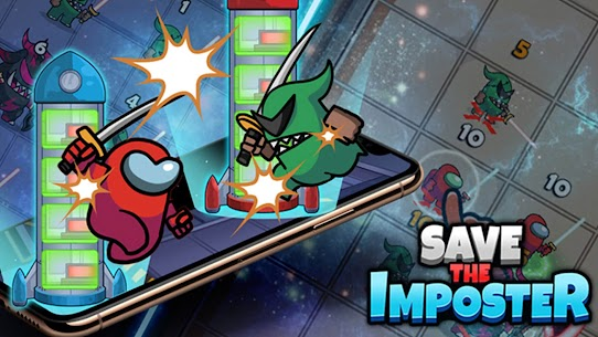 Save The Imposter: Galaxy Rescue Mod Apk 0.3.3 (A Lot of Money) 6